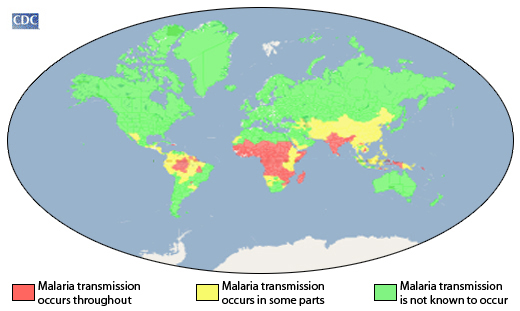 Malaria Distribution